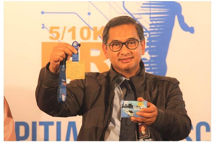 Hari Siaga Amijarso, Corporate Secretary Bank BRI [Foto: Labana.id/Retno Wulandari]