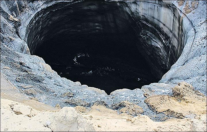 Lubang Raksasa Ditemukan di Siberia, Inikah Jawaban dari Misteri Segitiga  Bermuda? | LABANA.id