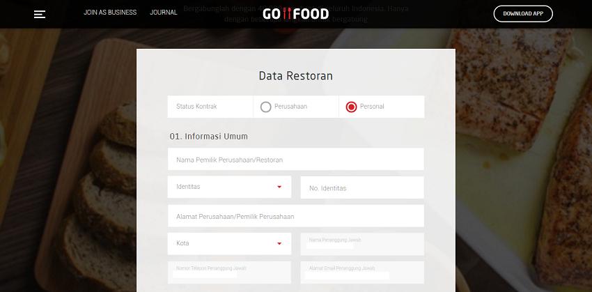 Cara Daftar Go Food 2018 Bergabung Menjadi Partner Secara Online