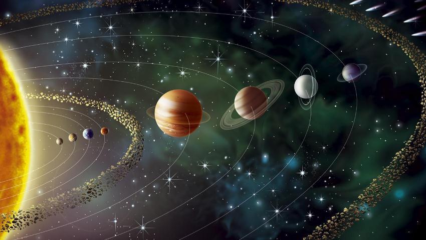 Bulan maret saatnya melihat parade planet planet di tata surya